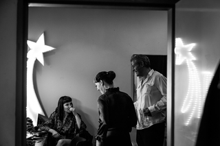 Backstage - Scarlett Martini, Diva DeSaster & Matt Devereux